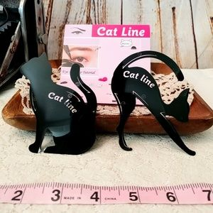 Other - Cat Eye Eyeliner Stencil Cat Shaped Set of 2!